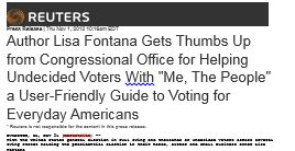 Reuters, Me The People, Lisa Fontana thumbs up from congressional office